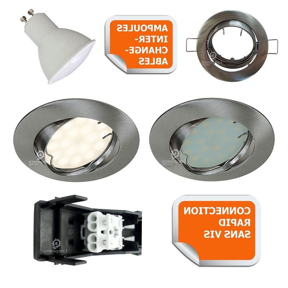 Comment changer une ampoule GU10 ?