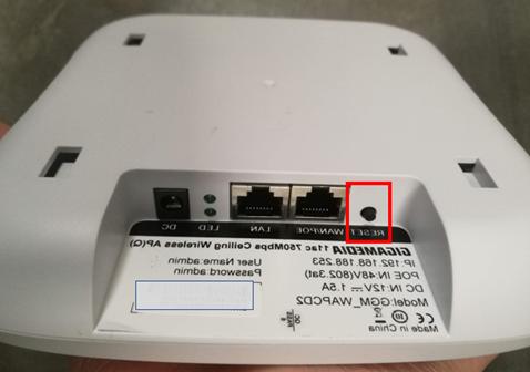 Comment réinitialiser des LED ?
