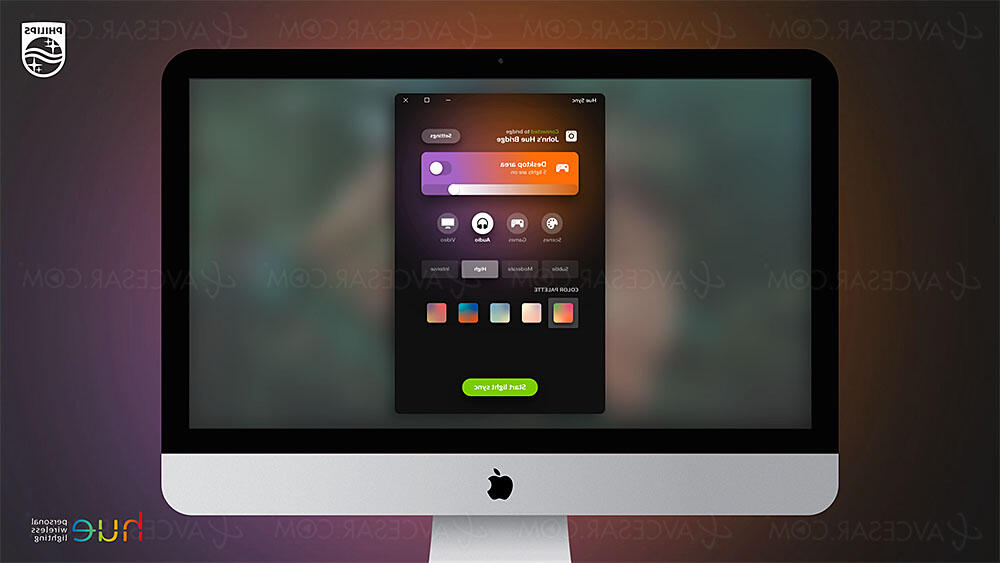 Comment synchroniser Philips Hue play ?