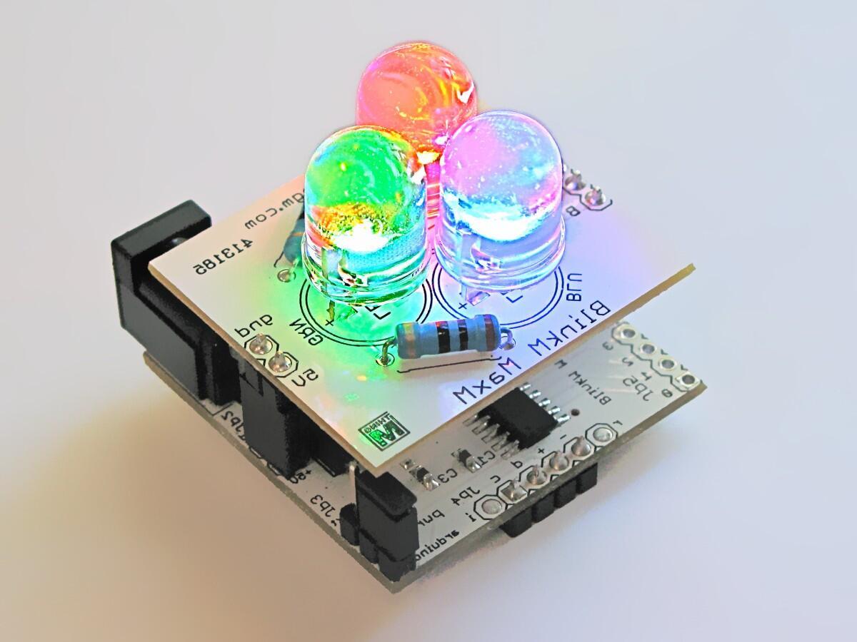 Comment une ampoule change de couleur ?