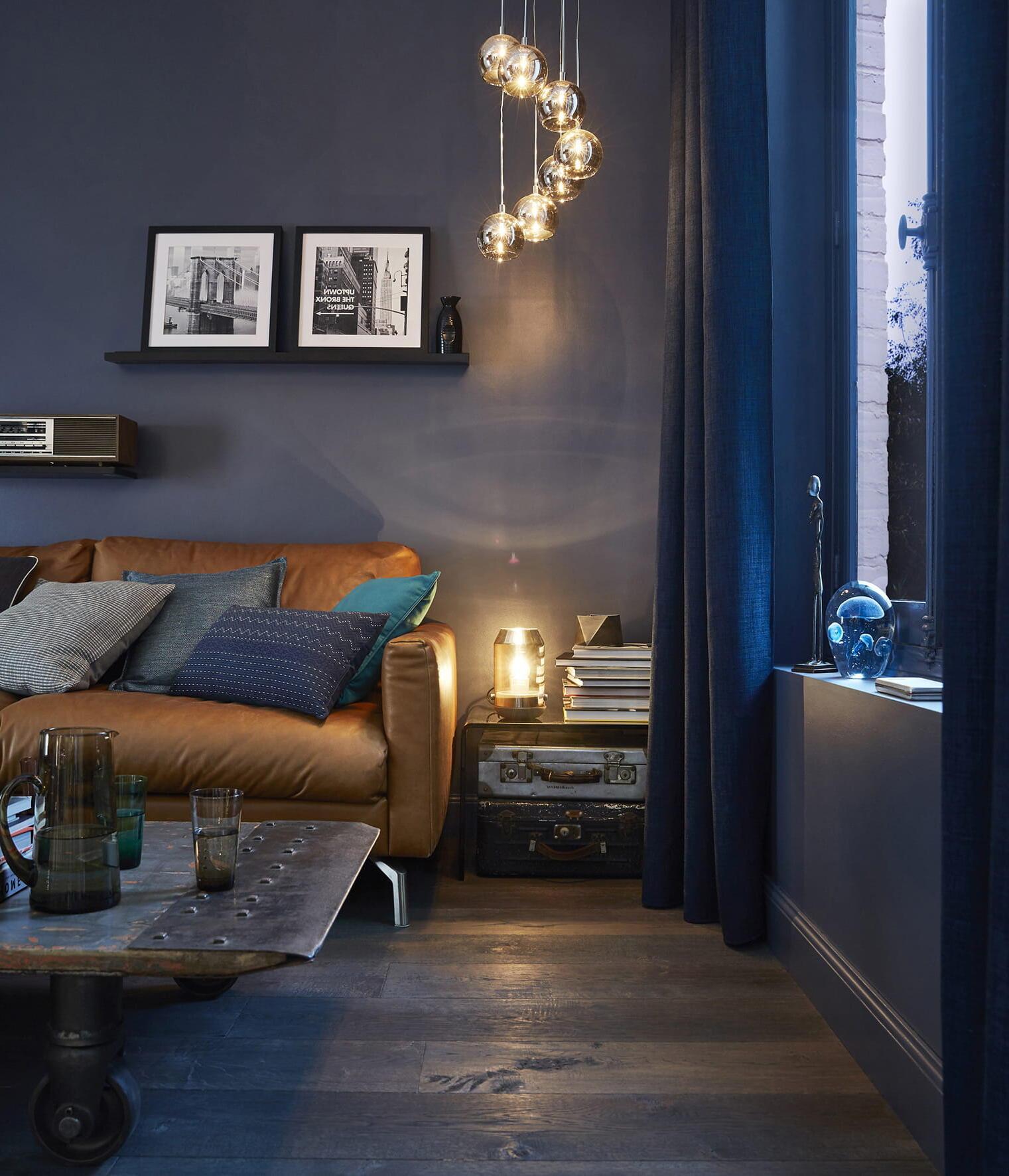 Quelle couleur de LED dans un salon ?