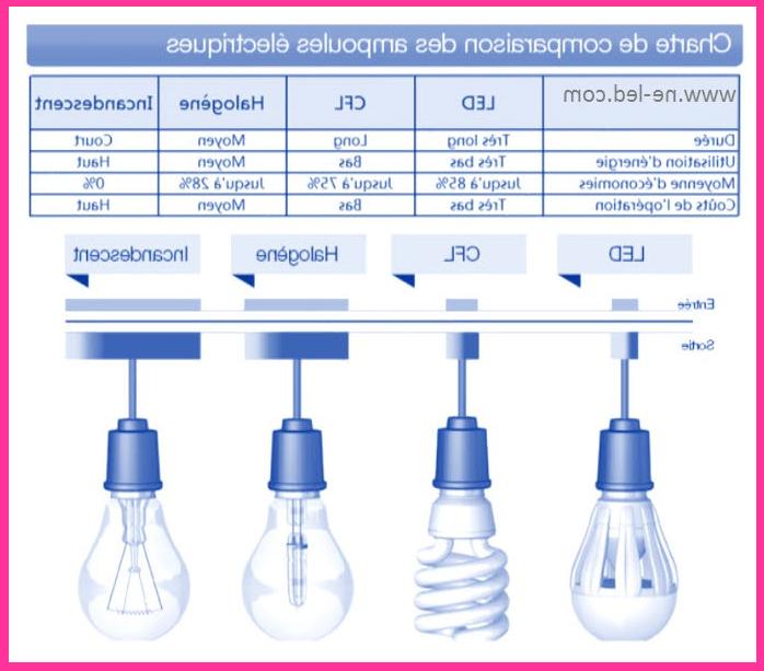 Quelle différence entre ampoule ?
