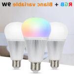 Ampoule led multicolore e14