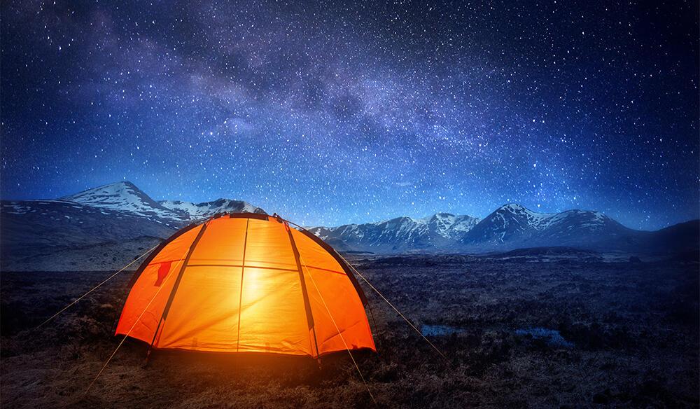 Comment s'éclairer au camping ?